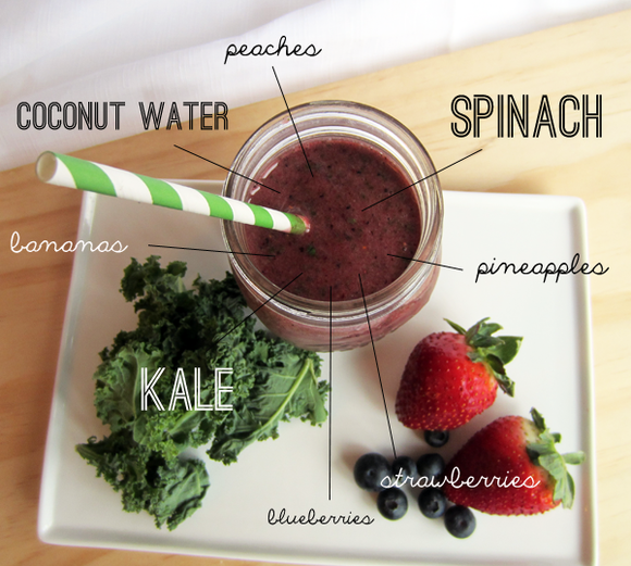 The kitchen sink smoothie 2