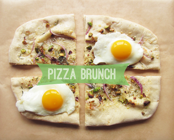 Pizza brunch
